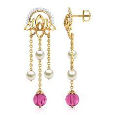 Rambagh Pond Drop Earrings Jewellery India Online - CaratLane.com