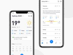 Weather App Forecast by Monty Hayton for Hyper Lab on Dribbble Web Design, Dashboard Design, Ui Inspiration, Mobile Ui, Show And Tell, Data Visualization, How To Memorize Things, Weather, App Ui
