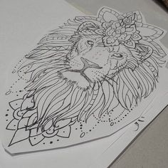 More lions in progress... #liontattoo #liontattoo #mandalaanimal #mandalalion #liontattoodesign #mandalatattoo #mandala #drawing #sketching #atitagain #dailygrind #pencildrawing #tattooapprentice #seba #sharkhuntertattoos