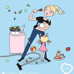 Funny illustration that all pregnant and mommy illustration * is fun . - Funny illustration that all pregnant and mommy illustration * is fun … – Funny illustration tha - Funny Illustration, Illustrations, Baby Blues Comic, Best Baby Blankets, Winter Newborn, Baby Boy Themes, Kids Line, Baby Fat, Pregnancy Humor
