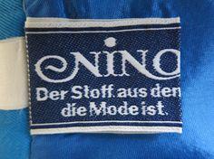 NINO - Flair Der Stoff aus dem die Mode ist.                    From a 1970s skirt
