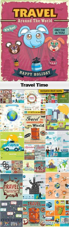 World map vector 25xeps brushes vectors pinterest travel time 25xeps city mapsbrushesvectors gumiabroncs Images