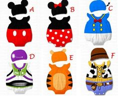mickey mouse baby stuff | ... romper with hat Mickey Mouse Minnie Mouse Baby Boys Girls Clothes