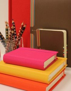 Semikolon notebooks. they have other great and colorful office stuff, too