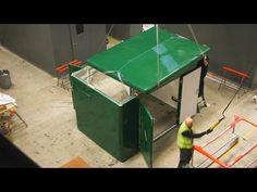 Glasdon UK | Time Lapse Construction & Delivery | Garrison™ GRP Modular Housing http://www.youtube.com/watch?v=aMaLJOXFRvE