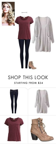 """""""First Day."""" by sarah-narnia ❤ liked on Polyvore featuring rag & bone/JEAN, Object Collectors Item, maurices and Wet Seal"""