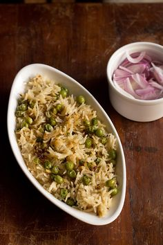 matar pulao or peas pulao is a simple and easy pulao recipe. the matar pulao is aromatic and has sweet tones because of peas or matar. this pulao can be made with fresh or frozen peas