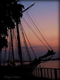 Sunset in Windsor Ontario
