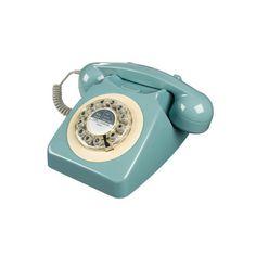 Retro Telephone in French Blue. Our brand new Retro Phone in French blue is a quintessential British retro telephone & style icon. Shabi Chic, Innovation Living, Nostalgia, Muuto, Retro Phone, Vintage Phones, Vintage Telephone, Deco Originale, Retro Stil