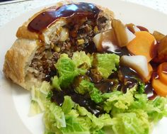 Jenny Eatwell's Rhubarb & Ginger - my version of Jamie Oliver's Minced Beef Wellington.  The one that was featured on Zoe Ball's Radio 2 morning programme.