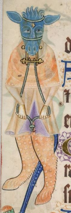 Psalter ('The Luttrell Psalter') with calendar and additional material 1325-1340 Add MS 42130 Folio 173v