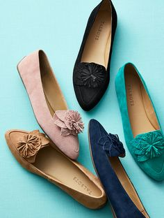 Undeniably practical, infinitely wearable and blossoming with beauty, the Francesca is this season's must-have moccasin. Plus, the memory foam footbeds will pamper your feet with pillow-soft comfort all day, every day. | Talbots