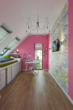 Детская. Интерьер загородного дома в стиле Лофт, пос. Белоостров, 180 кв.м.