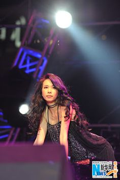 Karen Mok at 2012 Shanghai Jazz Festival