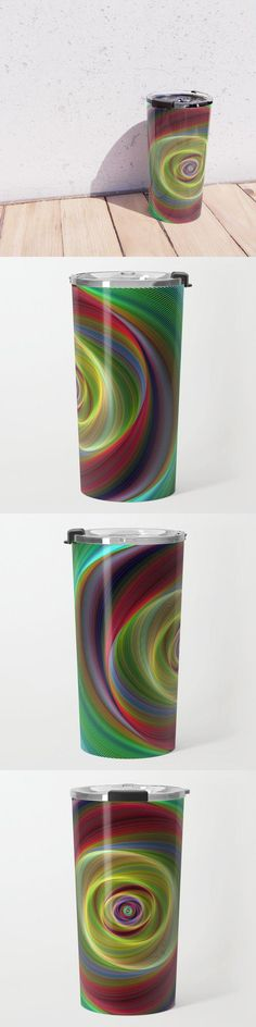 Time Travel Travel Mug by David Zydd #BestTravelMugs #Equipment #Art #Leisure (tags: design, travel, art, graphic design, graphic, tabletop, product, outdoor, tableware, lifestyle, decor, time, camping, printed, equipment, artist, leisure, home, backyard, print)