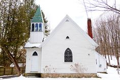 Once a Schoolhouse and Church, Now a Home and Art Gallery