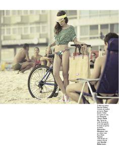 moda carioca: renata sozzi by henrique gendre for grazia france 28th june 2012