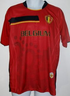 Amazon.com   BELGIUM SOCCER JERSEY T-SHIRT RED FÚTBOL ONE SIZE L LARGE  FOOTBALL WORLD CUP 2014 FIFA CAMISETA REMERA   Sports   Outdoors ba74bc9d4
