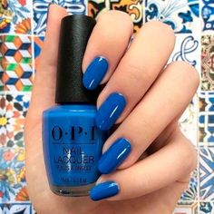 Lisbon - Great Color Collection 2018 for Trendy Girls from OPI Nail Polish ❤️ Tile Art To Warm Your Heart ❤️ OPI nail polish is something every lady knows about, we are sure of it. The guide like this you will look like a fashion icon anywhere, anytime!https://naildesignsjournal.com/opi-nail-polish/ #naildesignsjournal #nails