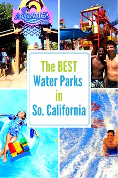 My favorite thing to do in the summer in Southern California is hit up the waterparks. So, here is a breakdown of the Best Waterparks in Southern California, cause I love them all. California With Kids, California Travel, Southern California, Travel Couple, Family Travel, Las Vegas, Family Vacation Destinations, Travel Destinations, Disney Trips