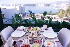 Brunch with Bodrum view #Bodrum #brunch #BodrumCastle