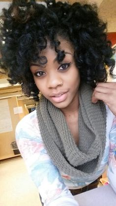 Rod sets on natural hair #afro-tastic