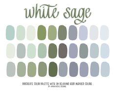 Sage Color Palette, Purple Color Palettes, Green Color Schemes, Green Colour Palette, Green Colors, Lavender Color Scheme, Purple Color Combinations, Mint, Color Swatches