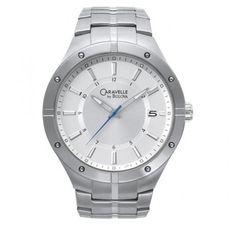 caravelle steel steel bracelet watch.  #bodykraze #stainless #steel #caravelle #bulova #bracelet #Watch