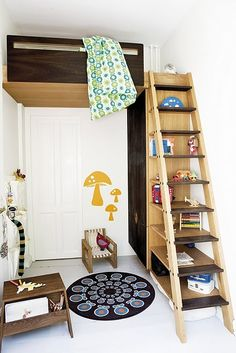 Great use of space for a small room.