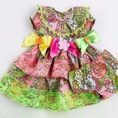 @universo_pinkblue - Que Lindeza!!!! Vestido caipira algodão com elastano! Super confortável! Tamanhos: 9, 12 meses e 1 ano. Valor: 119,00 + frete