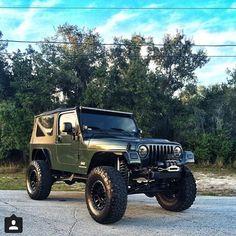#Jeep green