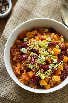 Slow-Cooker Sweet Potato Chili
