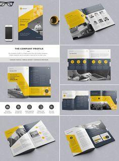 Elegant Of Indesign Templates For Brochures 20 Best InDesign Brochure Creative Business Marketing Company Brochure Design, Graphic Design Brochure, Booklet Design, Brochure Layout, Free Brochure, Brochure Cover, Page Layout Design, Magazine Layout Design, Web Design