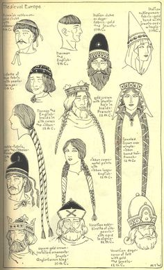 Village Hat Shop Gallery :: Chapter 7 - Medieval or Gothic Europe: