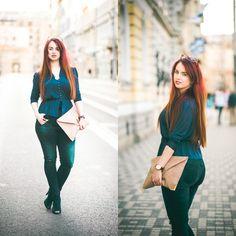 Drew - Asos Bag, F&F Jeans - Me wearing jeans Curvy Fashion, Plus Size Fashion, Curvy Jeans, Tie Styles, Jeans Style, My Outfit, Plus Size Outfits, Asos, Street Style