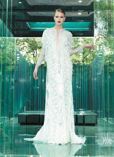 YOLAN CRIS Bridal Collection 2015 | Vintage Couture - Tula