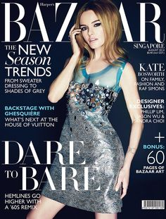 Kate Bosworth for Harper's Bazaar Singapore August 2014 by Gan