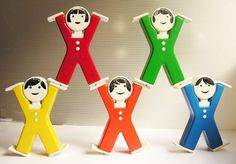 Acrobats  vintage toy 90s  The Netherlands by WatermelonCatVintage
