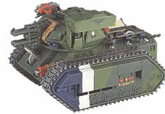 A Chimerax FSV of 12th Necromundan Armoured. this particular vehicle is also equipped w/ a pintle-mounted Storm Bolter & a twin-tube  Hunter-Killer ATGM-launcher