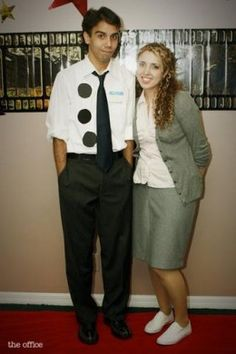 Halloween Costume Ideas for Work - Jim and Pam from the Office