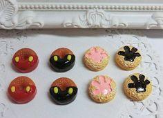 Cabochon Mickey y galletas manitos Mickey