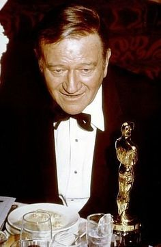 "John Wayne Best Actor Oscar for  ""True Grit"""