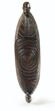 MAORI TREASURE BOX, NEW ZEALAND
