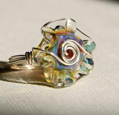 Boro Glass Ring I neeeeeeeeed one!  :)