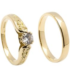 celtic trinity knot band | add a wedding band matching 18k wedding band $ 610 00 from 725 00 ...