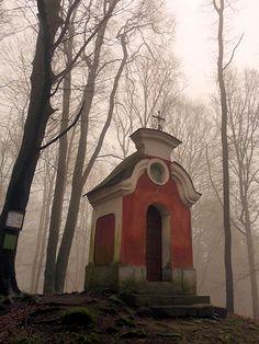 Koryčanská kaple, Chřiby Pula, European Countries, Czech Republic, Prague, Places, Outdoor Decor, Christmas, Travel, Bohemia