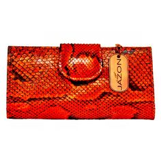 """JA'ZON INC. """"Handcrafted For Your Pleasure""""  Handmade African Python Women's Wallet. (Matching Bag Available)  JA'ZON product/design is a great collection of genuine exotic skins. Handcrafted handbags by JA'ZON are collections made of 100% genuine exotic skins with style and elegance made for great durability and longevity. """"The Diamond of Leather"""" Pure Elegance!!!!   CRAFTED LUXURY EXOTIC GOODS BY: JA'ZON COMING SUMMER 2015 .... #AFRICAN  #NILE #CROCODILE #PYTHON #IGUANA #OSTRICH #LAMBSKIN…"""