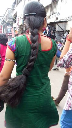 Long Bob Hairstyles, Indian Hairstyles, Girl Hairstyles, Braided Hairstyles, Long Hair Indian Girls, Indian Long Hair Braid, Beautiful Braids, Beautiful Long Hair, Braids For Long Hair