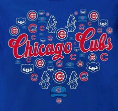 Chicago Cubs Fans, Chicago Cubs Baseball, Baseball Wall, Baseball Stuff, Chicago Cubs Pictures, Cubs Wallpaper, Sports Team Logos, Sports Teams, Cubs Team
