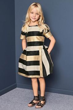 Buy Multi Stripe Prom Dress (3-14yrs) online today at Next: United States of America
